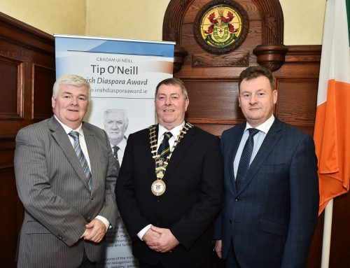 Official announcement of the Tip O'Neill Irish Diaspora Awards 2017 Recipients